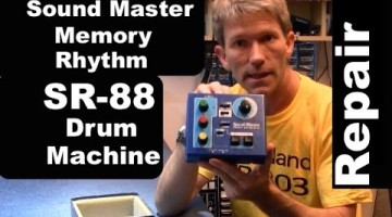 How to Repair a SR-88 Drum Machine