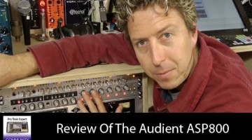 Review Of The Audient ASP800