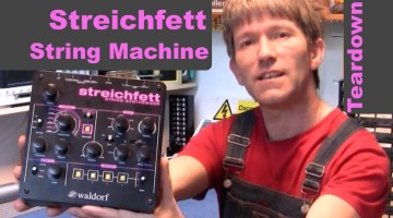 Teardown the Waldorf Streichfett String Machine