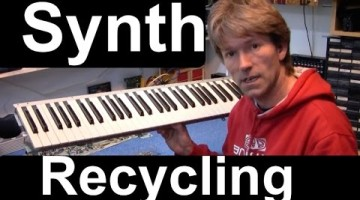 Salvage an Old Synth for Parts