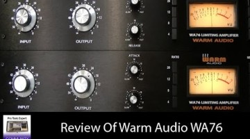 Using Warm Audio WA76 for Drums