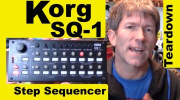 Look Inside a Korg SQ-1 CV Gate Step Sequencer