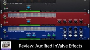 Audified inValve Effects Plug-in Review
