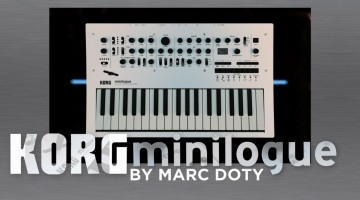 Korg Minilogue Review and Demo by Marc Doty – The Voice Modes