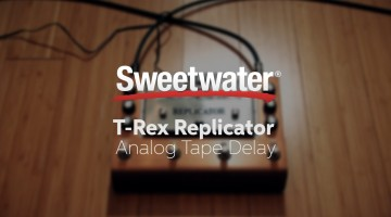T-Rex Replicator Analog Tape Delay Review