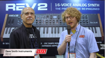 Dave Smith Unveils New Rev 2 Polyphonic Synth